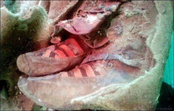 mieux aimé 58e91 78e01 Les ancêtres des espadrilles Adidas portées par une momie de ...