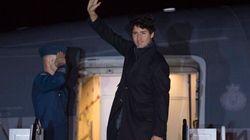 L'avion de Justin Trudeau rebrousse