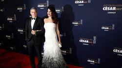 César 2017: Amal et George Clooney magnifiques sur le tapis