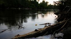 La rivière Chaudière sous haute