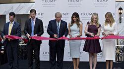 Donald Trump fait la promotion d'un nouvel