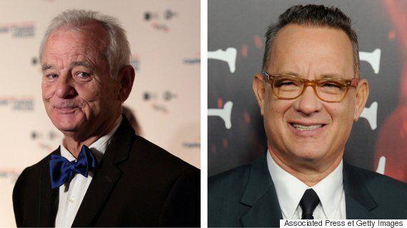 Les internautes ne peuvent décider s'il s'agit de Bill Murray ou de Tom Hanks sur cette