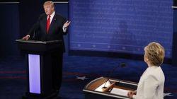 Trump et Clinton débattent du fond pour leur dernier