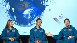 Deux nouveaux astronautes canadiens ont rencontré des enfants à