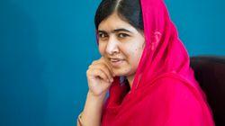 Malala visite le plus grand camp de réfugiés au