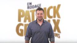 Patrick Groulx revient sur scène avec des «p'tits pas