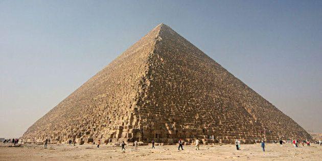 La pyramide de Khéops en Égypte pourrait nous livrer de nouveaux