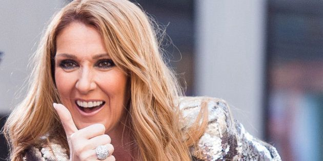Celine Dion performs on