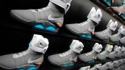 Les chaussures de «Retour vers le futur» tirées au sort par