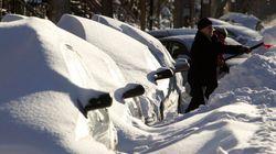 La tempête de neige déferle sur l'est du