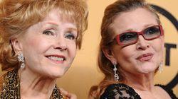 Carrie Fisher et Debbie Reynolds: une relation mère-fille