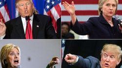 Débat Trump-Clinton : l'Amérique retient son