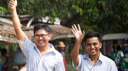 Reuters Journalists Wa Lone And Kyaw Soe Oo Freed From Myanmar
