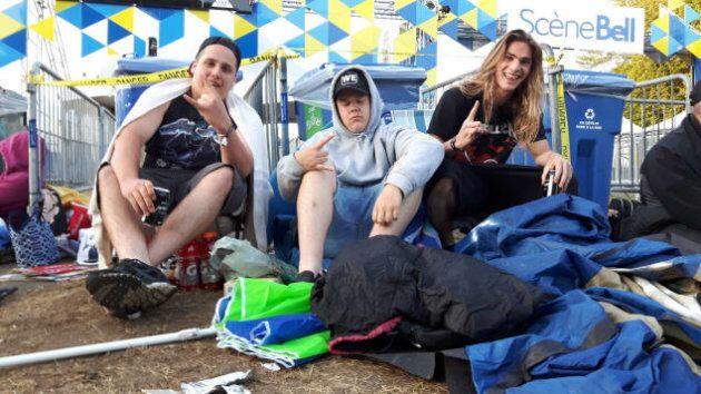 Metallica: 26 heures d'attente pour être aux premières