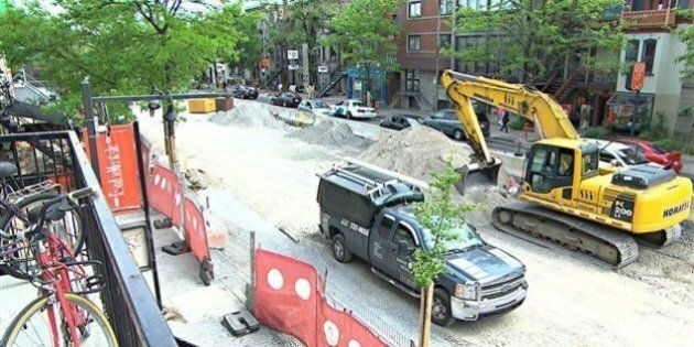 Les travaux de la rue Saint-Denis terminés avec un mois