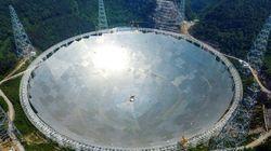 Le plus grand télescope au monde est entré en