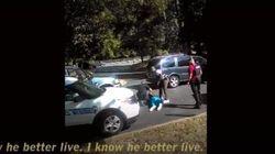 Charlotte: la famille de l'homme noir abattu par un policier rend la vidéo