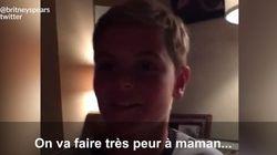 Britney Spears piégée par un des ses enfants