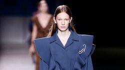 Volants, rayures et ventes instantanées à la Semaine de mode de