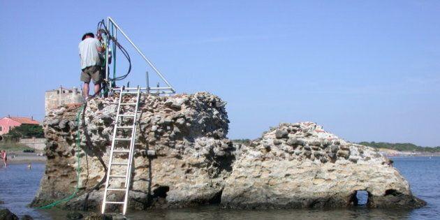 Des tests effectués sur une structure en Toscane Photo : J. P. Oleson/Université de