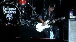 Le guitariste d'Aerosmith s'évanouit en plein concert