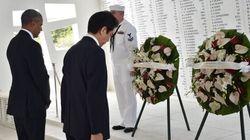 Pearl Harbor: Obama et le premier ministre japonais rendent hommage aux