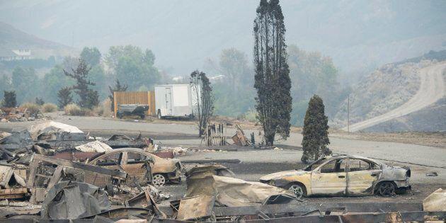 37 000 personnes déplacées en raison des incendies en