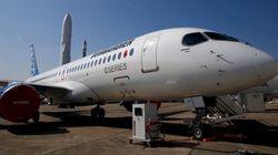 Le CS300 de Bombardier obtient son