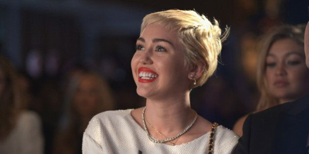 WEST HOLLYWOOD, CA - JANUARY 22:  Recording arist Miley Cyrus attends The DAILY FRONT ROW 'Fashion Los Angeles Awards' Show at Sunset Tower on January 22, 2015 in West Hollywood, California.  (Photo by Charley Gallay/Getty Images for the DAILY FRONT ROW)