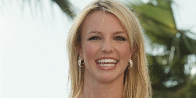 399874 02: Singer Britney Spears speaks at a press conference January 19, 2001 in Cannes, France. A few...