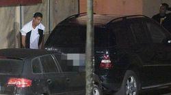 Cristiano Ronaldo surpris en train d'uriner en pleine