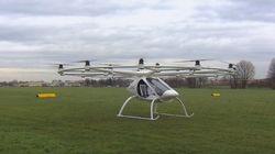 Un drone transformé en hélicoptère, est-ce encore un