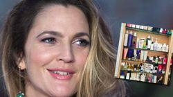 Drew Barrymore dévoile ses produits de beauté (et vous avez les