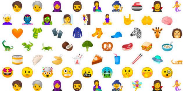 56 nouveaux emojis bientôt dans vos