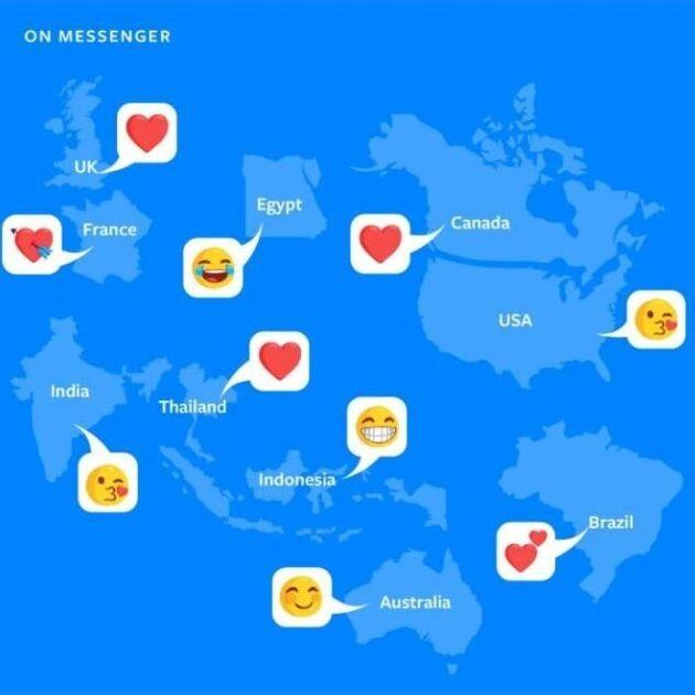 Facebook dévoile l'émoji le plus utilisé des