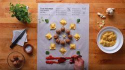 IKEA lance un livre de recettes très