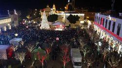 Les fidèles à Bethléem pour Noël, sécurité renforcée en