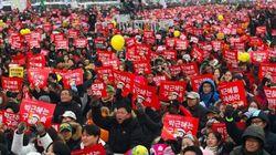Corée du Sud: des milliers de manifestants réclament le départ de la