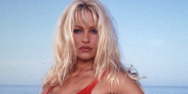 -FILE PHOTO 1995- Actress Pamela Anderson is shown in a 1995 publicity photo for her syndicated television