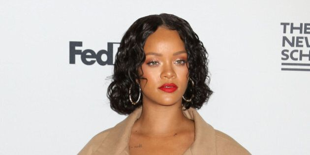 Rihanna attends the 69th Annual Parsons Benefit at Chelsea Piers in New