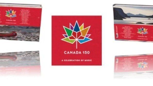 Les CD de la compilation 150e du Canada
