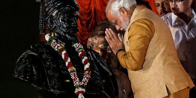 Hindu nationalist Narendra Modi, prime ministerial candidate for the main opposition Bharatiya Janata...