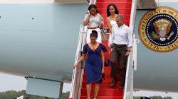 Obama et sa famille en vacances à