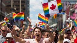 L'hyper communication 2.0 de Justin Trudeau au défilé de la fierté