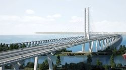 La construction du pont Champlain approche d'une étape