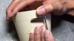 Cet artiste japonais gratte de la poterie et c'est fascinant à