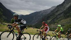 Cette photo prise par ce coureur du Tour de France est