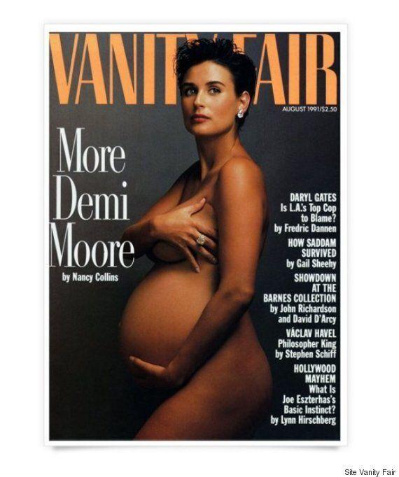 Serena Williams enceinte pose nue en couverture de Vanity Fair: