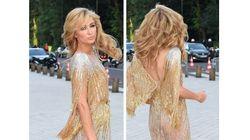 Paris Hilton joue la transparence à