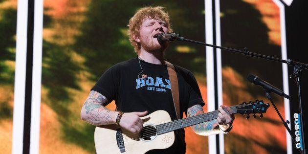 Revivez en images le concert d'Ed Sheeran au Centre